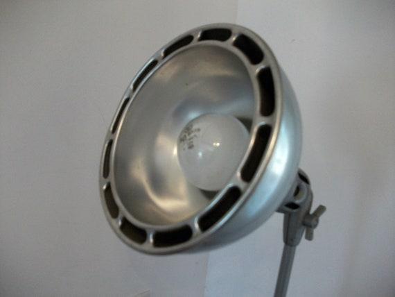 Antique Industrial Machinists Lamp