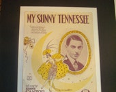 My Sunny Tennessee 1921 Song Sheet