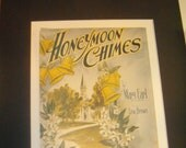 Honeymoon Chimes 1922 Song sheet