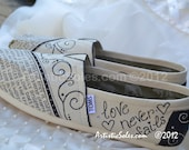 Custom Wedding TOMS by Artistic Soles - What is Love II with no personalizations