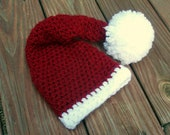 Christmas Baby Hat - Sweet Santa Hat for Babies