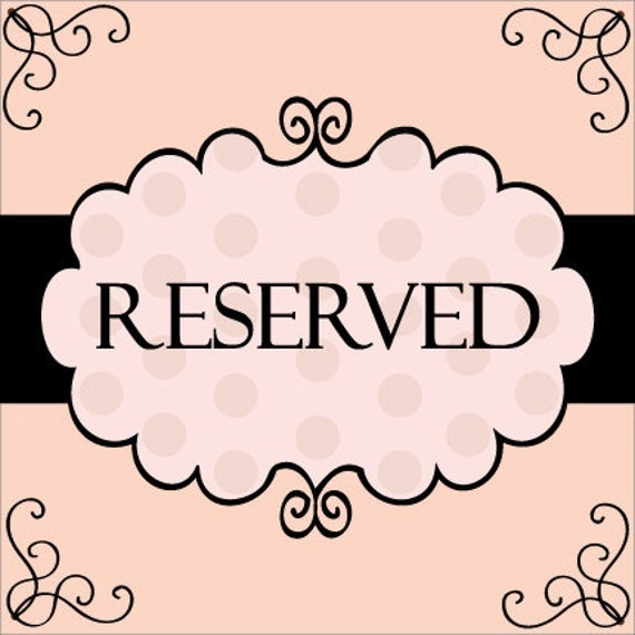Reserved Listing for KaiTheKangaroo