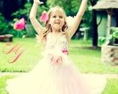 Pretty Rose Pettiskirt Girls Dress