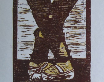 Fifth  position reduction block print