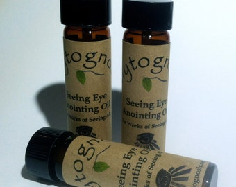 Seeing Eye Anointing Oil - Used for acts of divination, psychic workings, tarot, clairvoyant workings, and mediumship