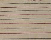 Cotton Canvas Striped Home Decor Fabric