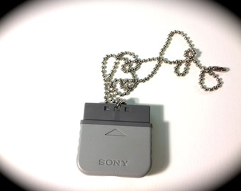 Playstation Plug Necklace// PS jewelry// Playstation geekery