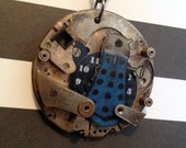 Time To EXTERMINATE - Doctor Who blue Dalek necklace