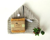 Soap and Soap Cozy gift pack - 2 bars of Prunella Soap and 1 Soap Cozy by The Cozy Project - Gift Set made in Portland Oregon