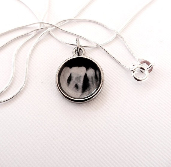 xray pendant perio in Sterling Silver