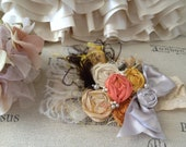an AUTUMN ROMANCE by Cozette Couture made to match Persnickety fall 2012