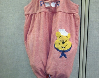 Re-Purposed Upcycled Baby's Jumper Winnie the Pooh Purse- CLEARANCE - New Markdown taken