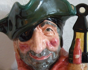 Royal Doulton Smuggler Character jug. Large