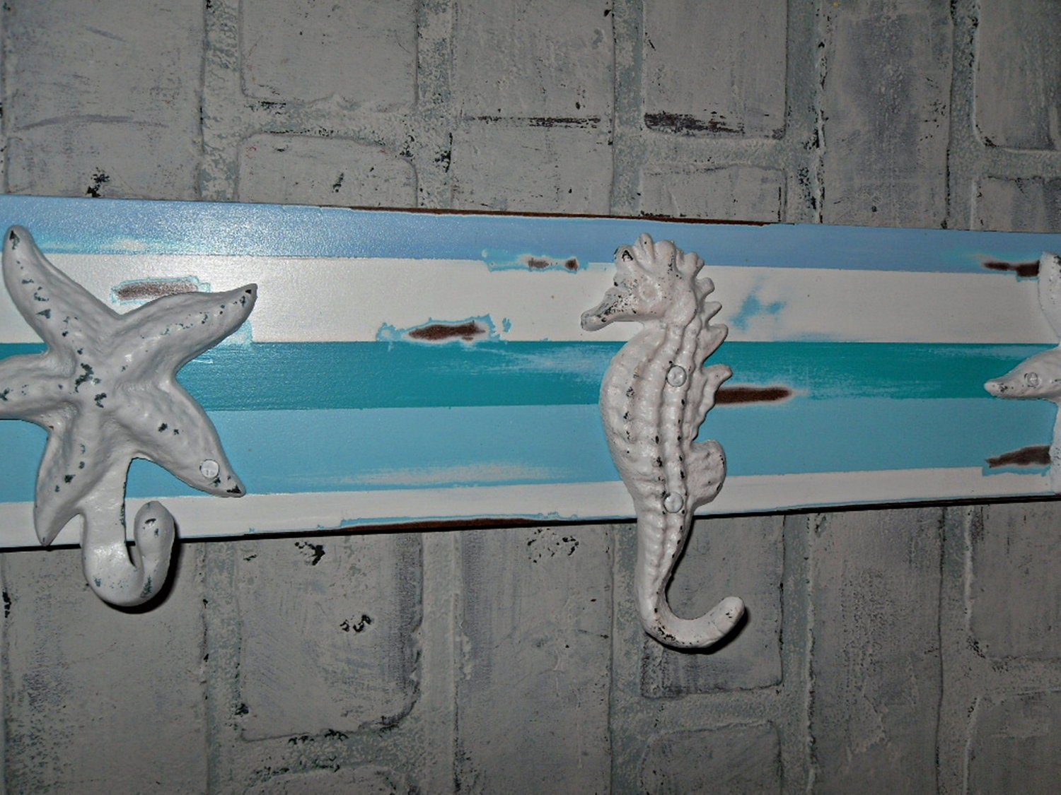 Nautical Coat Rack Beach Decor Wall Decor Wall Hook