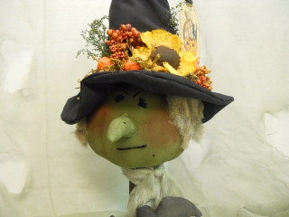 Primitive Halloween Witch Wicked Wilma
