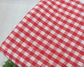 laminated cotton 1yard (42 x 36 inches) 40735-1 6mm check
