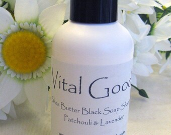 Dreadlock Shampoo Patchouli Lavender Shea Butter Black Soap Shampoo 4oz