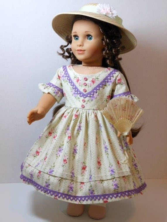 1850's Summer Dress for Marie-Grace or Cecile
