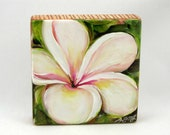 Hawaiian Plumeria 3, Hand Painted Original