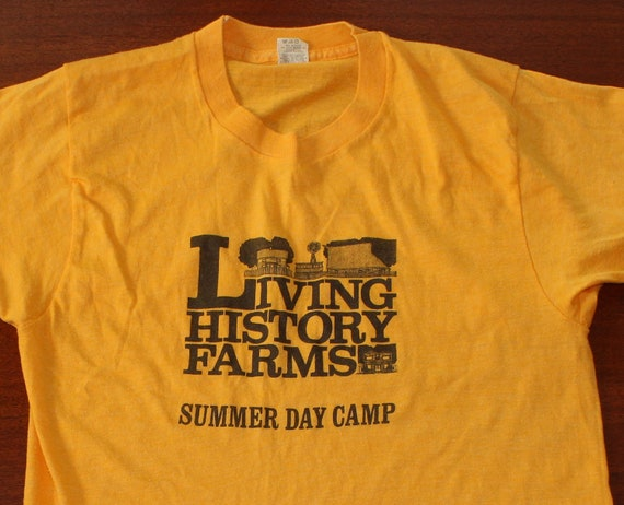 Living History Farms Summer Day Camp vintage Screen Stars t-shirt S
