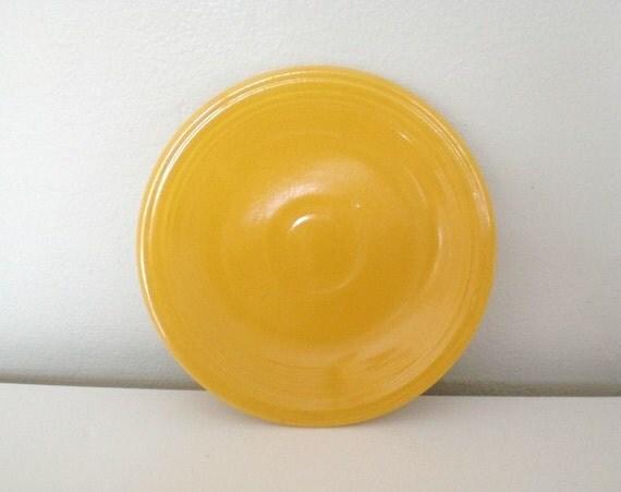 Vintage Fiestaware Bread Butter Plate Yellow