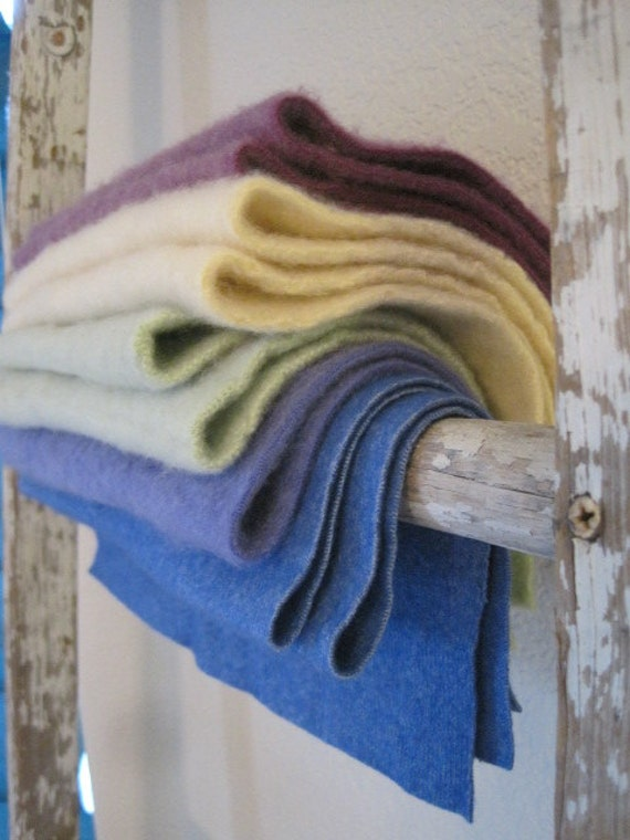 felted cashmere bundle