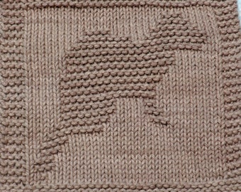 Knitting Cloth Pattern - FERRET - PDF -