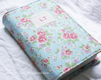 Bible cover, Hobonichi  Cover ,personalized book cover ,fine lace,linen,cotton, custom made