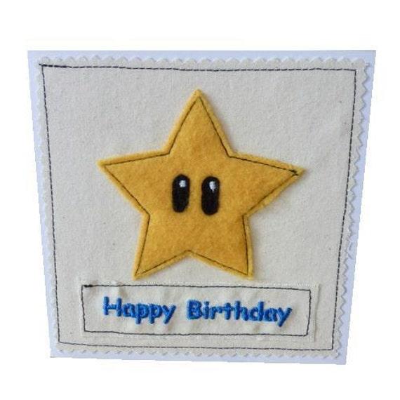 Star  power-up applique / textile card