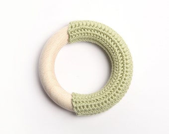 Apple green teething ring / First Toy
