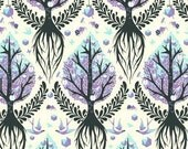Tula Pink Tree of Life Mist The Birds & The Bees One Yard