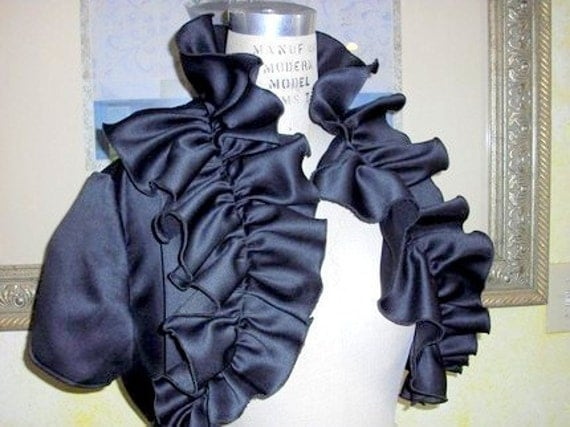 Over Ruffled Bolero in your choice of 7 Colors