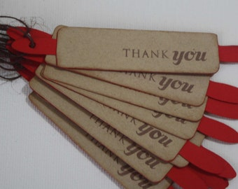 Kitchen gift tags - Rolling pin or cutting board shape favor tags, set of 25