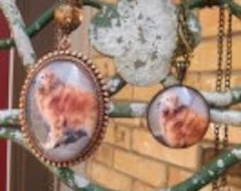 Celebrate a Dog Pet Portrait Necklace