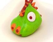 Design your own ooak blob monster - pocket size sculpture - adoptable creature