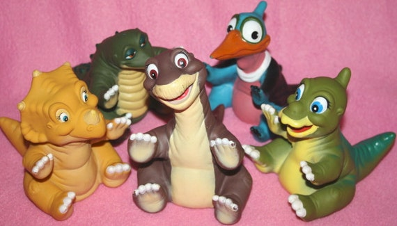 Land Before Time Toys : Collection of land before time dinosaur toys