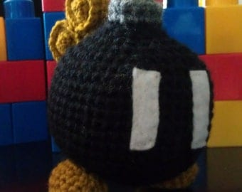 PATTERN - crochet ba bomb  - super mario - nintendo