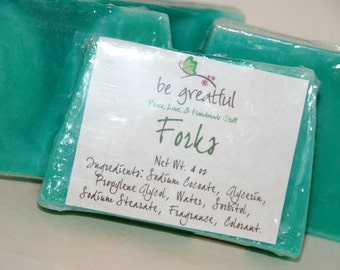 Forks Soap Slice Twilight Inspired Fragrance
