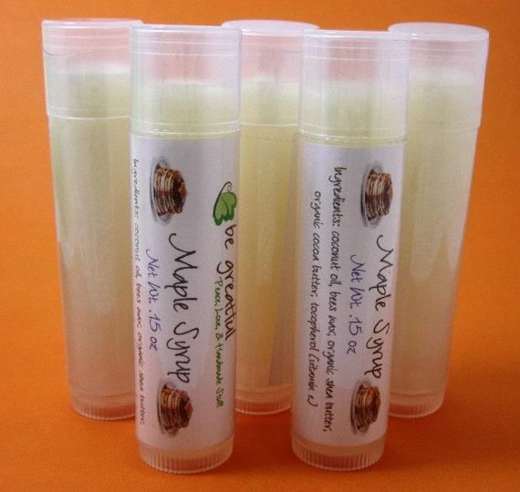 Maple Syrup Lip Balm