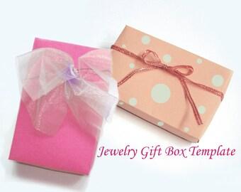 Printable Rectangular Jewelry Gift Box Template