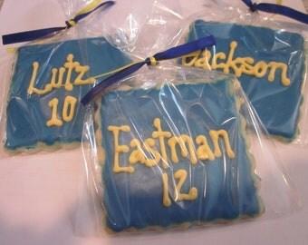 Athletic Team Cookies