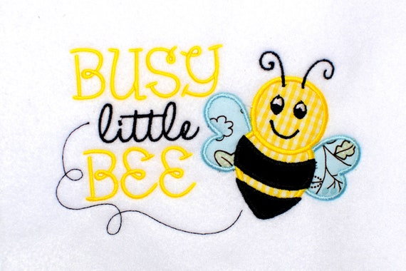 Items similar to instant download busy little bee machine