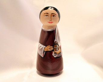 Mary, Wife of Cleophas - Catholic Saint Doll - made to order