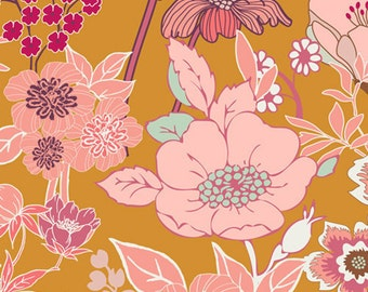 Beyond Bliss in Ginger (SML-100) - Summerlove by Patricia Bravo - Art Gallery Fabric - By the Yard
