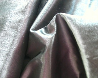 Black Shimmer Satin   1 Yard   (SM322)