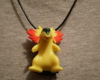 Pokemon Typhlosion Necklace