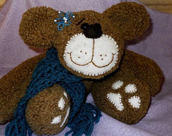 Stuffed Soft Brown Teddy Bear