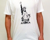 "deckstool.com T-Shirt - ""Recycled in America"""