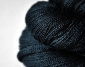 A dark storm has begun - Merino/Silk/Cashmere Fine Lace Yarn
