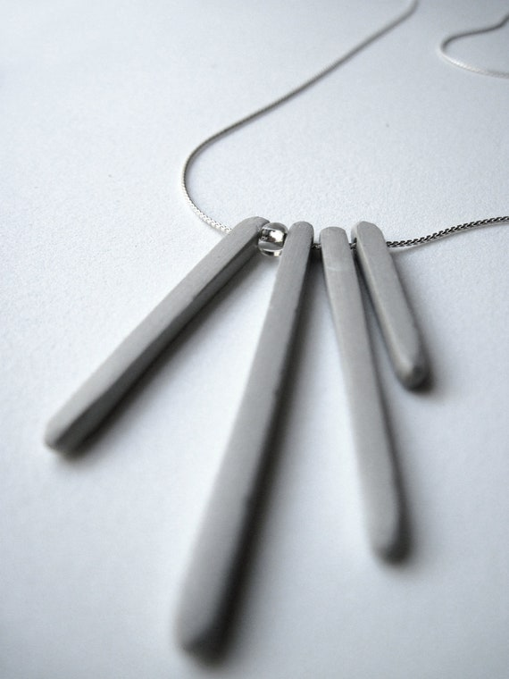 Concrete Icicles - Necklace